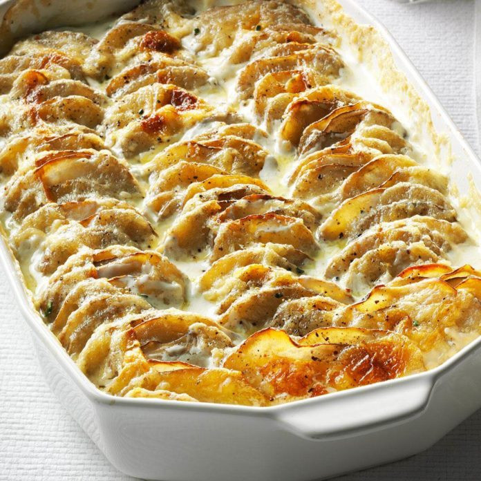 Easy Scalloped Potatoes Recipe  Super Simple Scalloped Potatoes Recipe