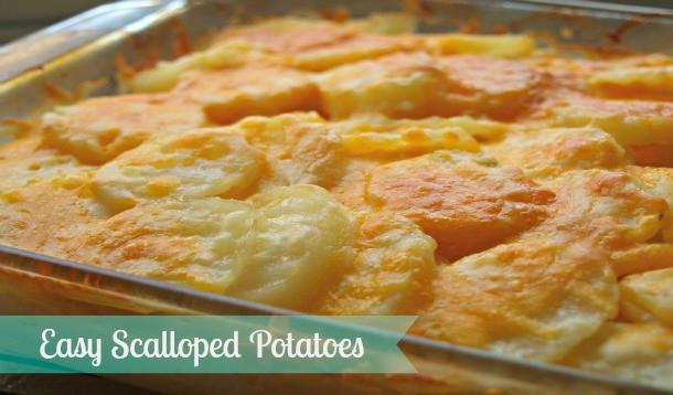 Easy Scalloped Potatoes Recipe  Easy Scalloped Potatoes Recipe YummyMummyClub