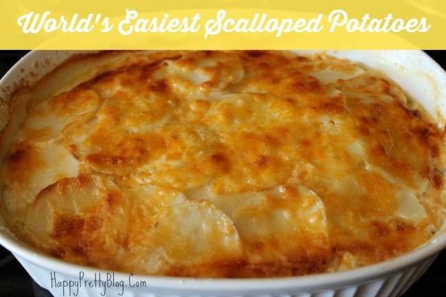 Easy Scalloped Potatoes Recipe  Recipes easy scalloped potatoes Food easy recipes