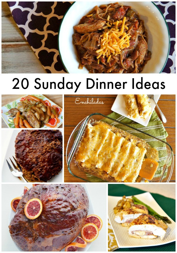Easy Sunday Dinner  20 Quick and Easy Sunday Dinner Recipe Ideas The Rebel Chick