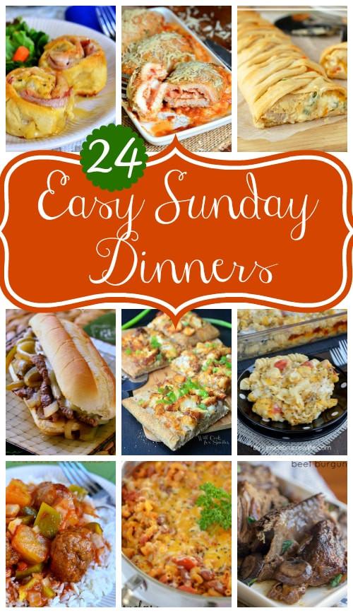 Easy Sunday Dinner  24 Easy Sunday Dinners Mom Timeout