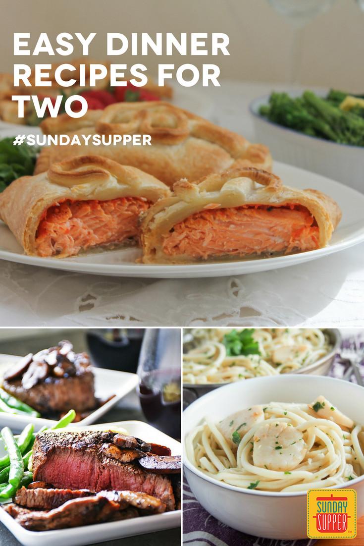 Easy Sunday Dinner  30 Easy Dinners for Two SundaySupper Sunday Supper