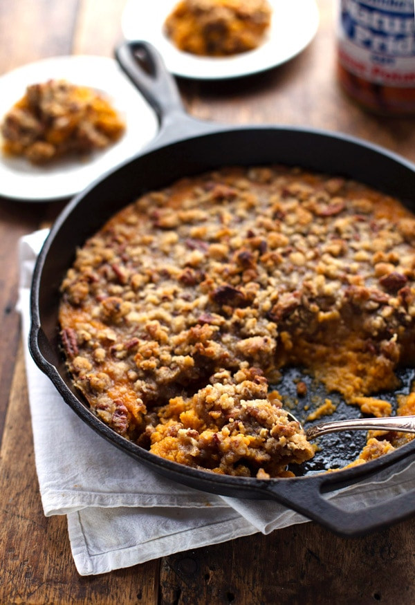 Easy Sweet Potato Casserole  easy sweet potato casserole using canned sweet potatoes