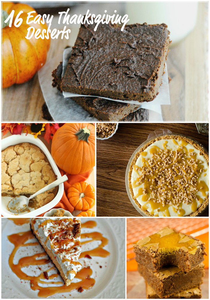Easy Thanksgiving Dessert Recipes  Easy Thanksgiving Dessert Recipes – April Golightly