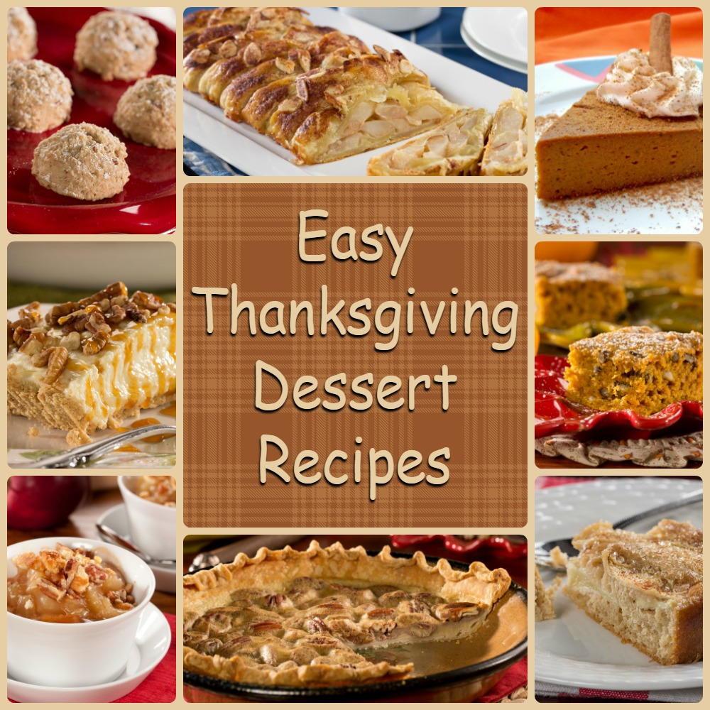 Easy Thanksgiving Dessert Recipes  Diabetic Thanksgiving Desserts 8 Easy Thanksgiving