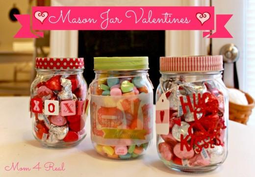 Easy Valentine'S Day Desserts  Mason Jar Valentine's Valentines Day Ideas