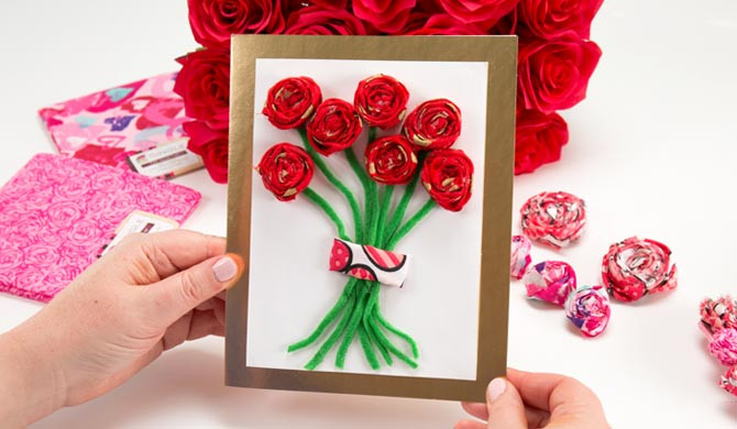 Easy Valentine'S Day Desserts  Fabric Rosettes 3 No Sew Ideas for Valentine s Day