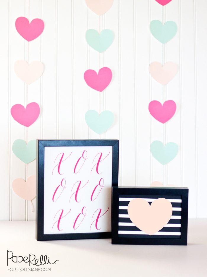 Easy Valentine'S Day Desserts  Valentine s Day decor free printables us246