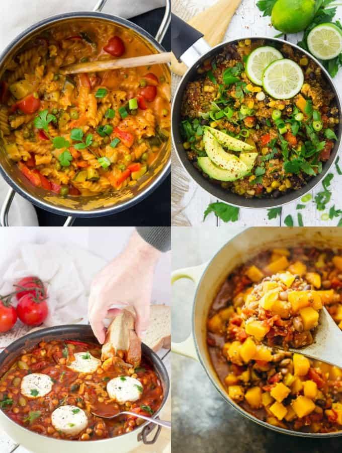 Easy Vegan Recipes For Dinner  30 Easy Vegan e Pot Meals Vegan Heaven