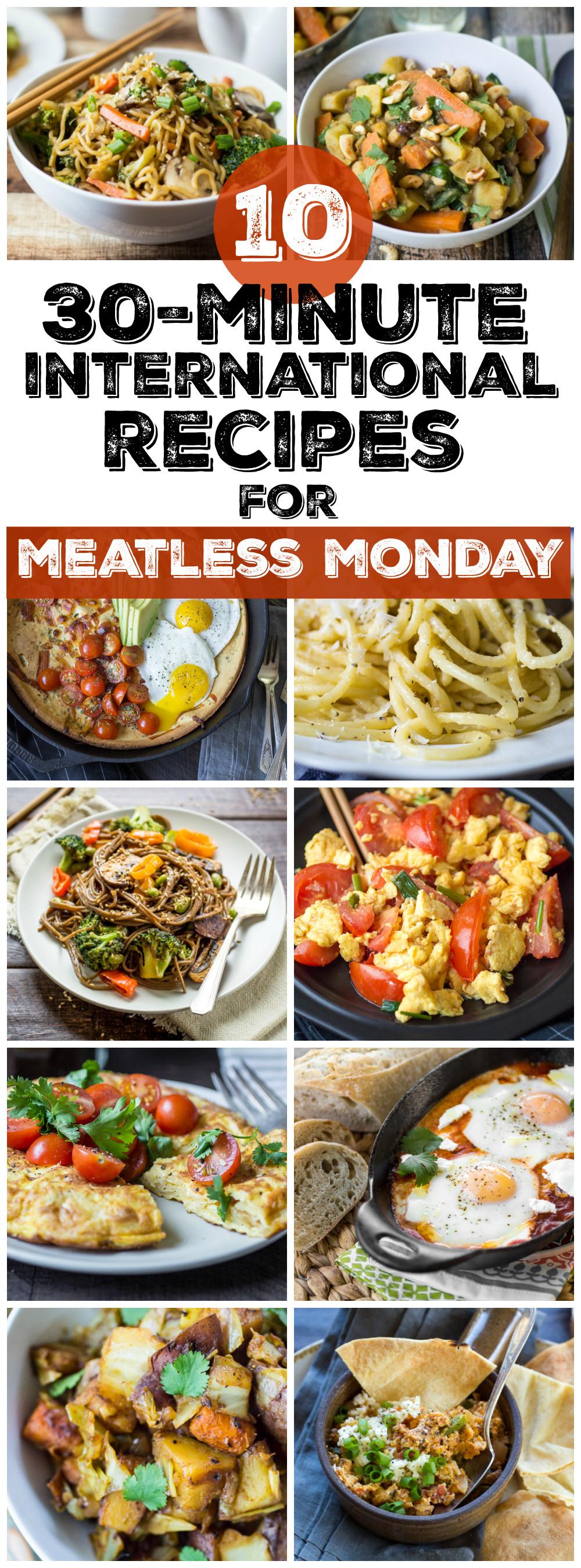 Easy Vegetarian Dinner Recipes  10 Easy Ve arian Dinner Recipes from Around the World