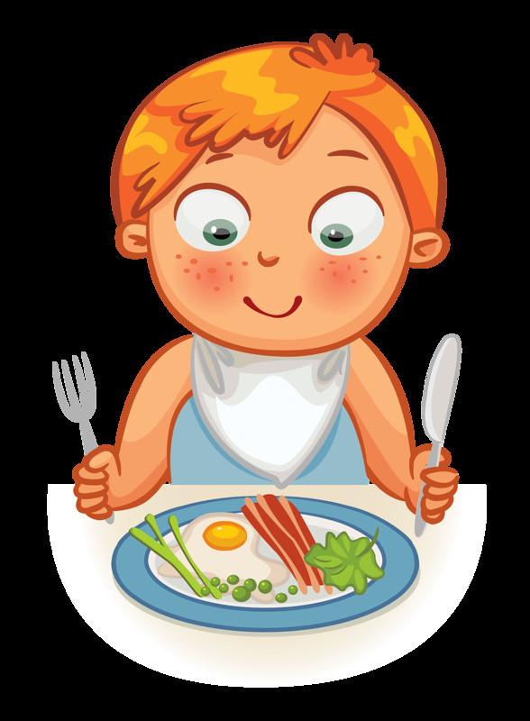 Eating Dinner Clipart  Clip art Kid Dinner Time Eating Time