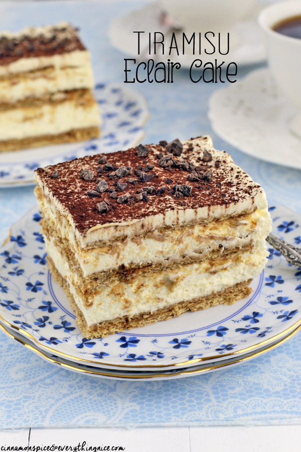 Eclair Cake Recipe  eclair cake without graham crackers