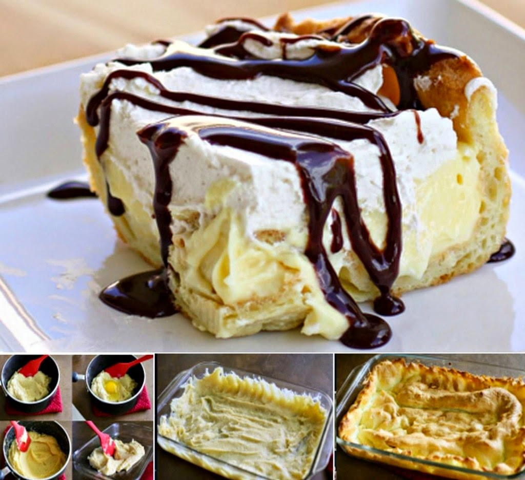 Eclair Cake Recipe  Ideas & Products Chocolate Eclair Cake