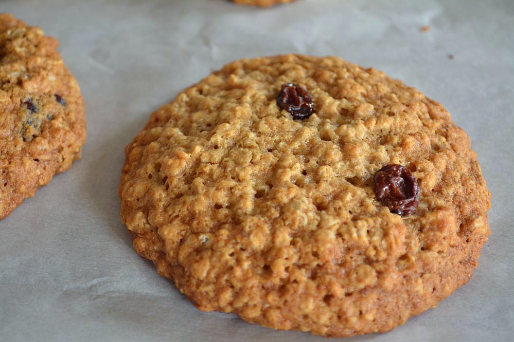 Eggless Oatmeal Cookies  Eggless Oatmeal Raisin Cookies