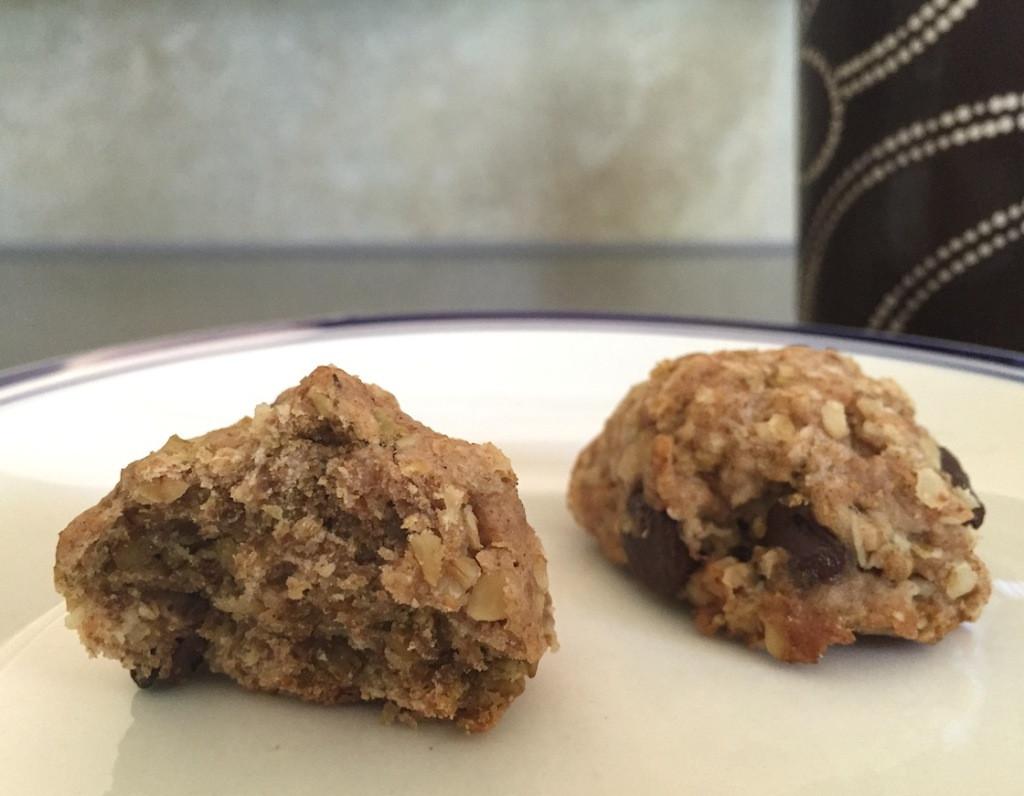 Eggless Oatmeal Cookies  Semi Sweet Eggless Oatmeal Cookies with Dark Choco