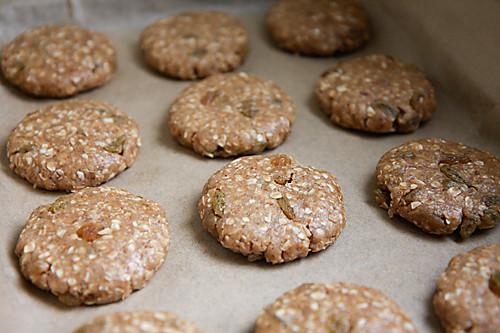 Eggless Oatmeal Cookies  Eggless Oatmeal & Raisin Cookies DivineTaste