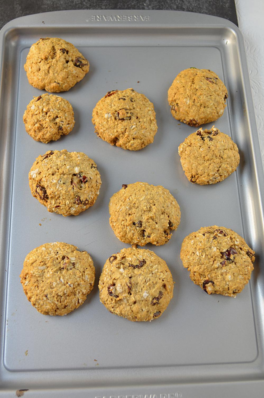 Eggless Oatmeal Cookies  eggless oatmeal cookies