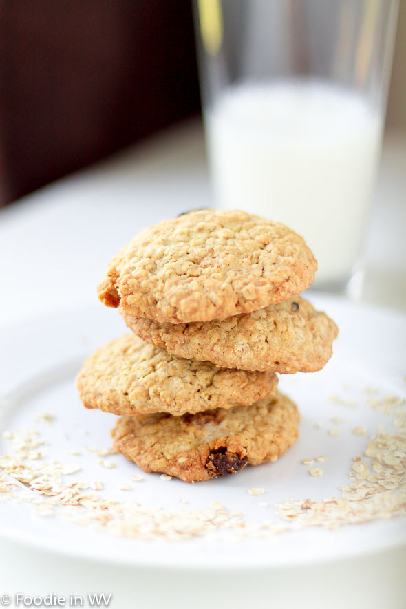 Eggless Oatmeal Cookies  Craving Cookies and Ran Out of Eggs Try Eggless Oatmeal