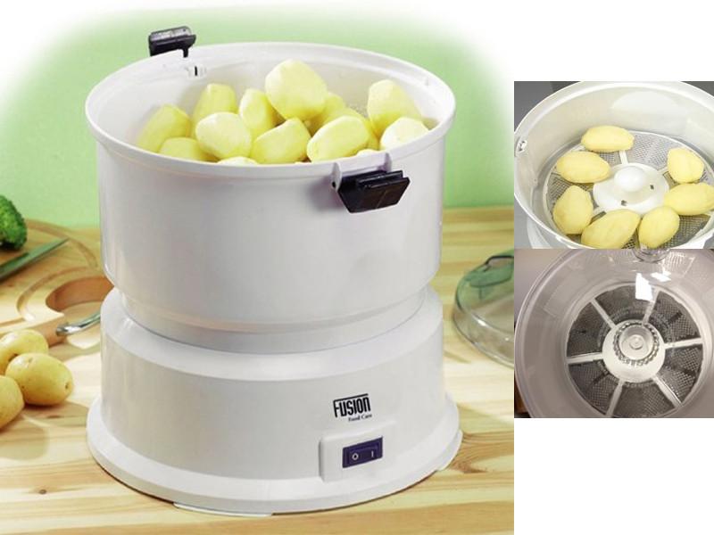 Electric Potato Peeler  NEW FUSION ELECTRIC AUTOMATIC POTATO APPLE PEELER KITCHEN