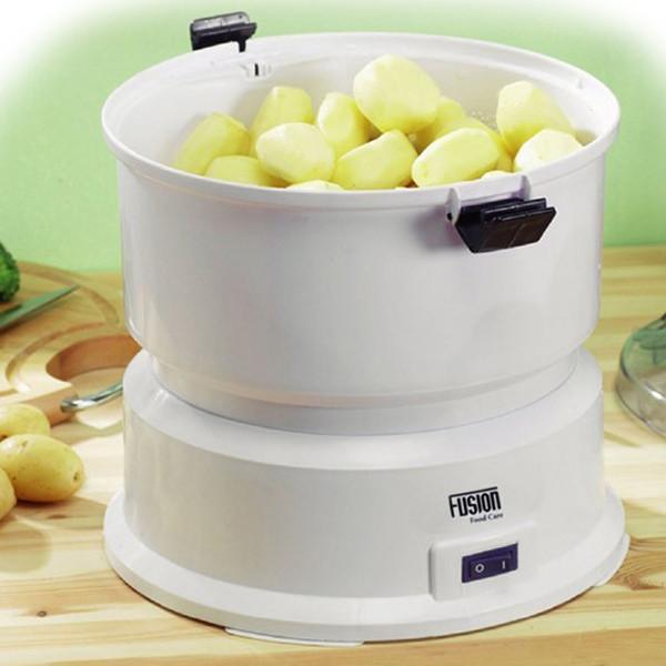 Electric Potato Peeler  NEW AUTOMATIC ELECTRIC FUSION POTATO PEELER HOME KITCHEN WHITE