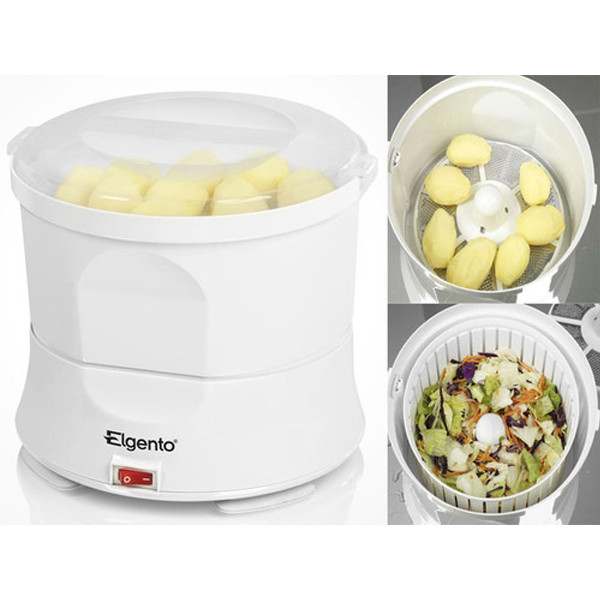 Electric Potato Peeler  BRAND NEW ELGENTO WHITE AUTOMATIC ELECTRIC POTATO PEELER