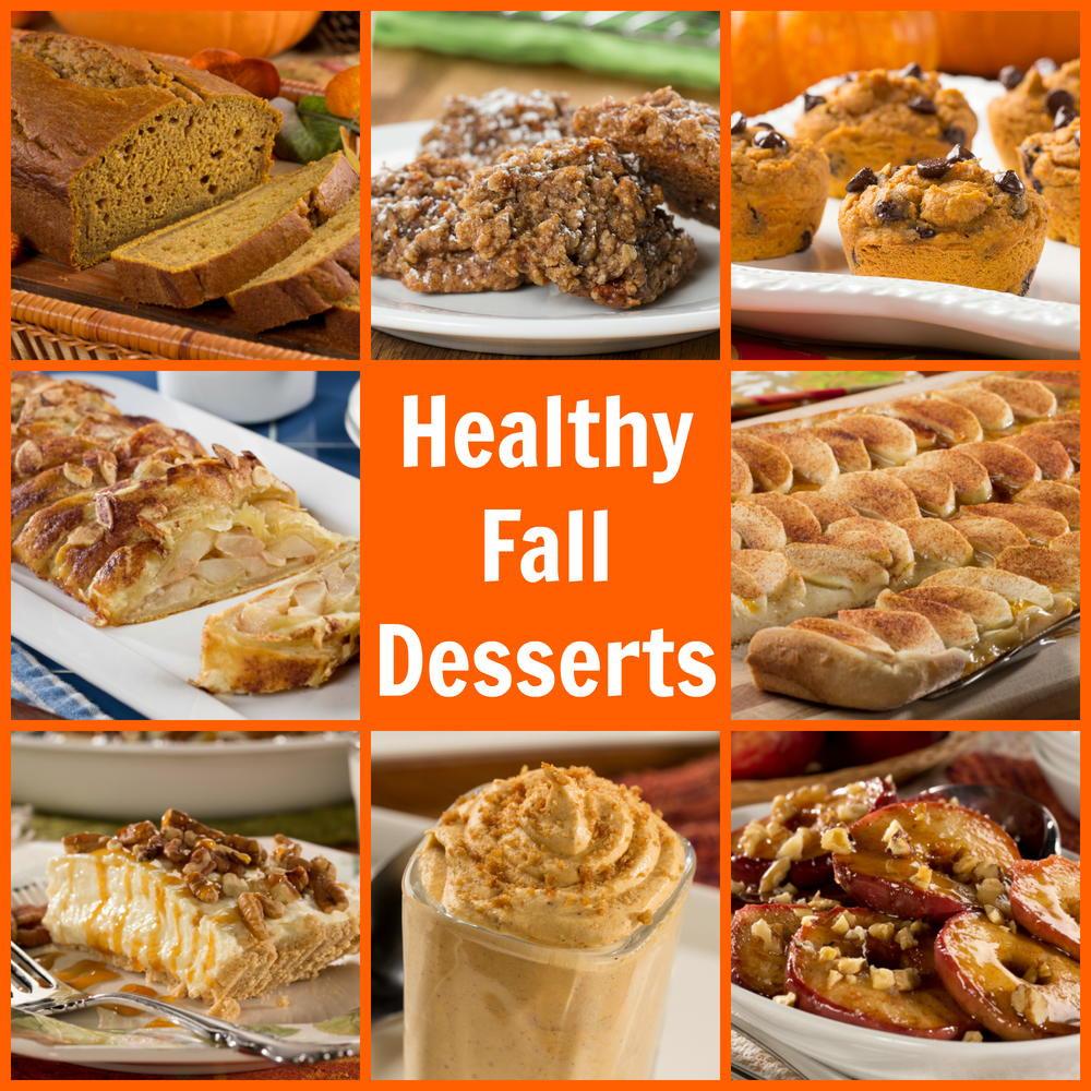 Fall Dessert Recipes  Healthy Fall Dessert Recipes