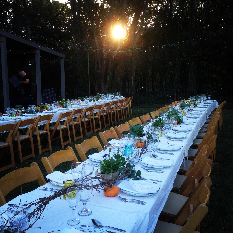 Farm To Table Dinner  1818 Farms Farm to Table Dinner October 2014 14