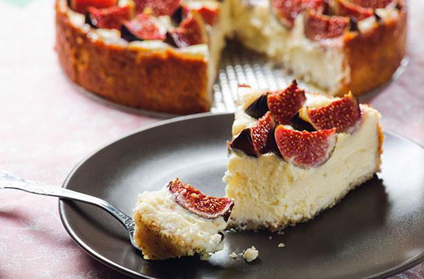 Fig Dessert Recipes  Fig cheesecake recipe goodtoknow