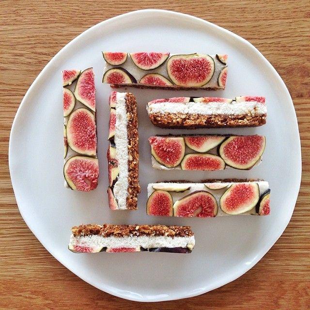 Fig Dessert Recipes  Vanilla Fig Bars Recipe — Dishmaps