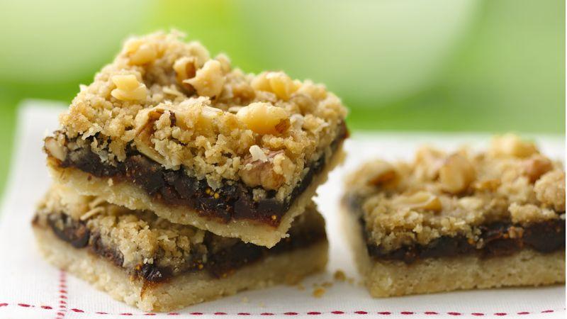 Fig Dessert Recipes  Fig Bars Recipe BettyCrocker