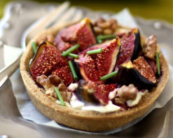 Fig Dessert Recipes  Fig Tart Recipe – Fresh Fig Pie Recipe – Fig and Goat