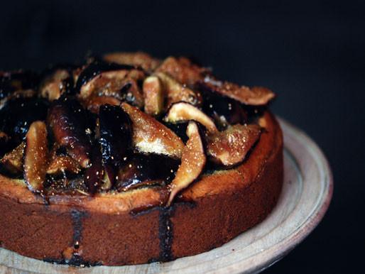 Fig Dessert Recipes  Rosemary Honey and Fig Cake Recipe