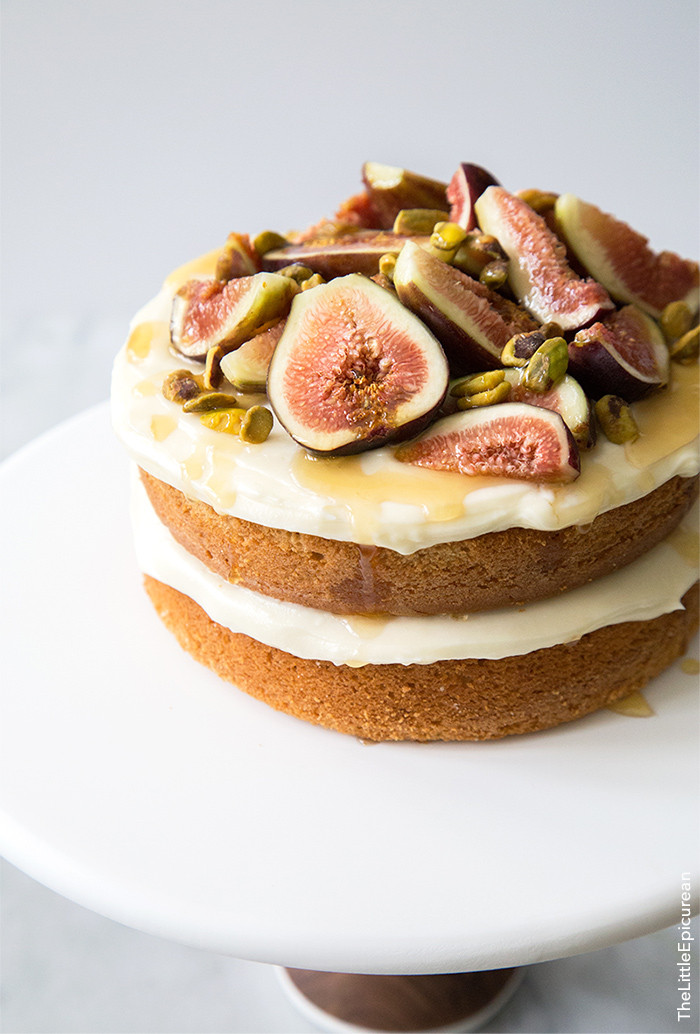 Fig Dessert Recipes  Honey Earl Grey Fig Cake The Little Epicurean
