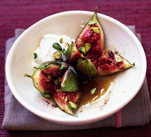Fig Dessert Recipes  Sticky cinnamon figs recipe