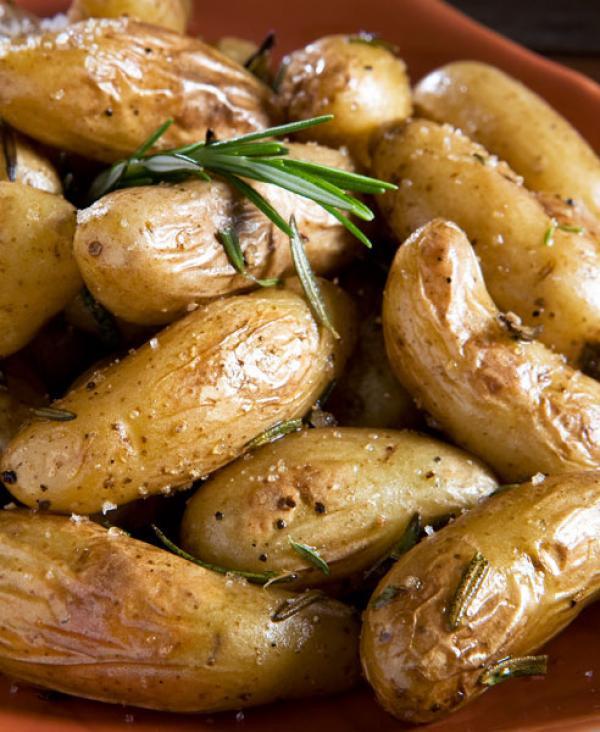 Fingerling Potato Recipes  An Urban Cottage Mini Mushroom Frittatas & Rosemary