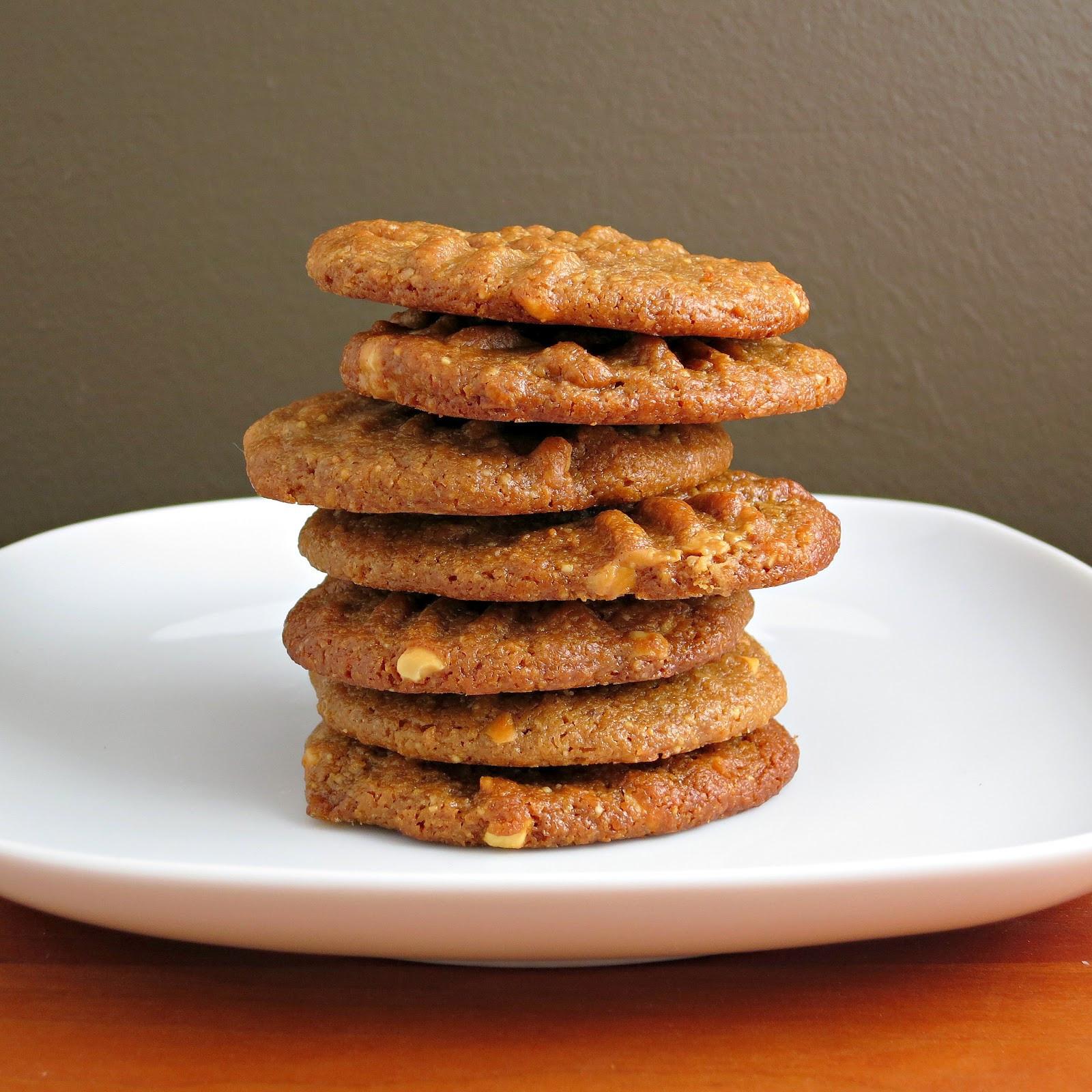 Flourless Peanut Butter Cookies  Flourless Peanut Butter Cookies