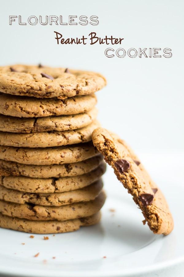 Flourless Peanut Butter Cookies  Flourless Peanut Butter Cookies Recipe — Dishmaps