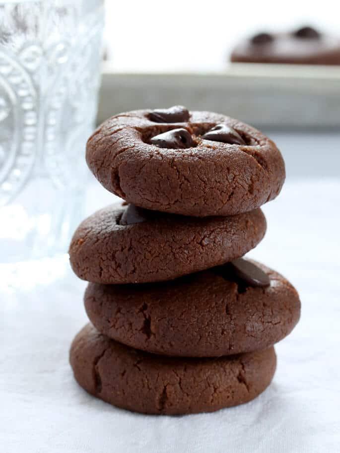 Flourless Peanut Butter Cookies  Flourless Peanut Butter Cookies with optional chocolate