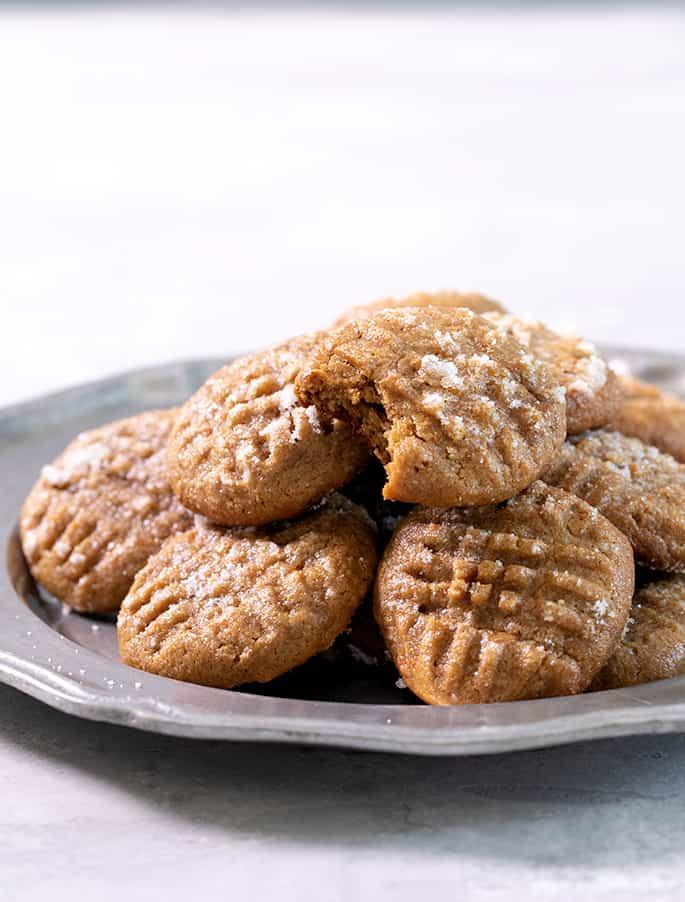 Flourless Peanut Butter Cookies  Plain Flourless Peanut Butter Cookies