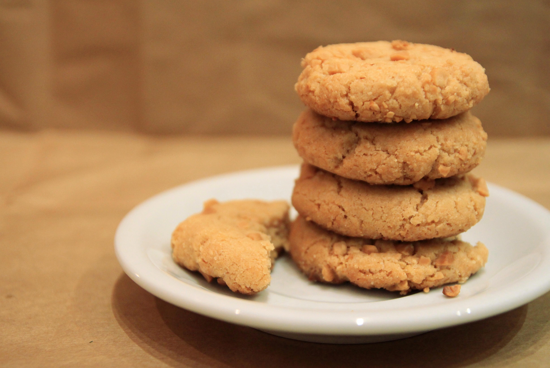 Flourless Peanut Butter Cookies  Flourless Peanut Butter Cookies Dish by Dish