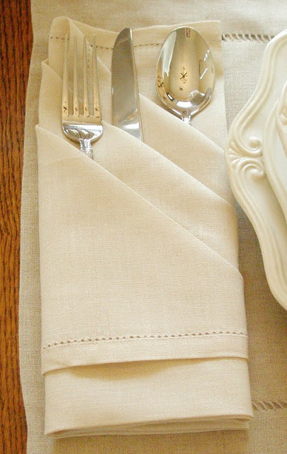 Folded Dinner Napkin  17 Best images about Towels Napkins & Toilet Paper Art on