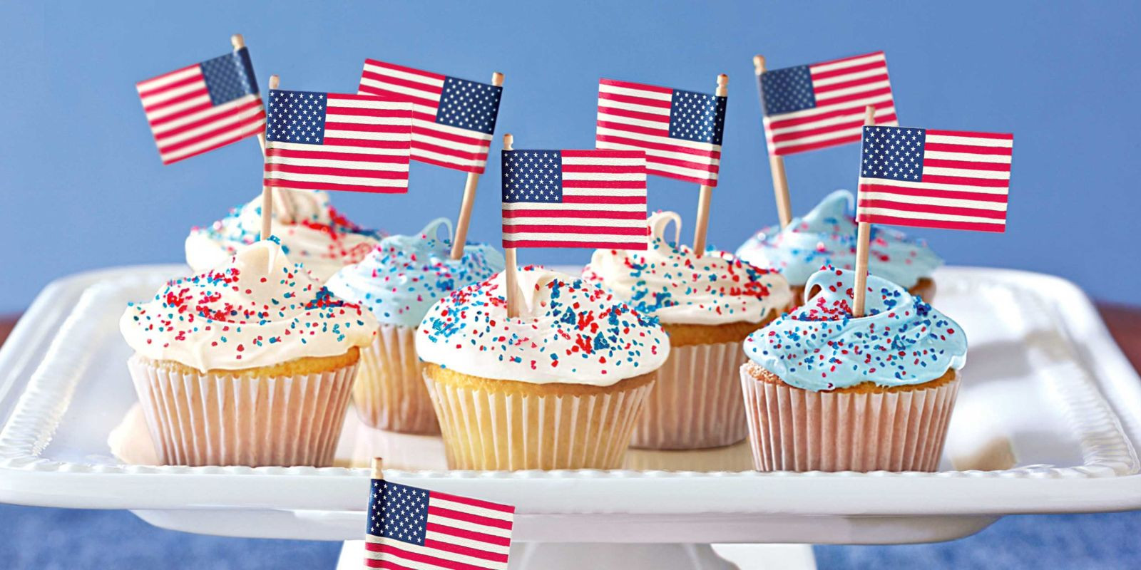 Fourth Of July Cupcakes  17 Easy 4th of July Cupcake & Cakes — Recipes for Fourth