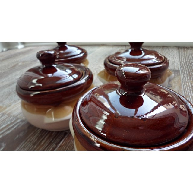 French Onion Soup Bowls  French ion Soup Bowls Set of 4