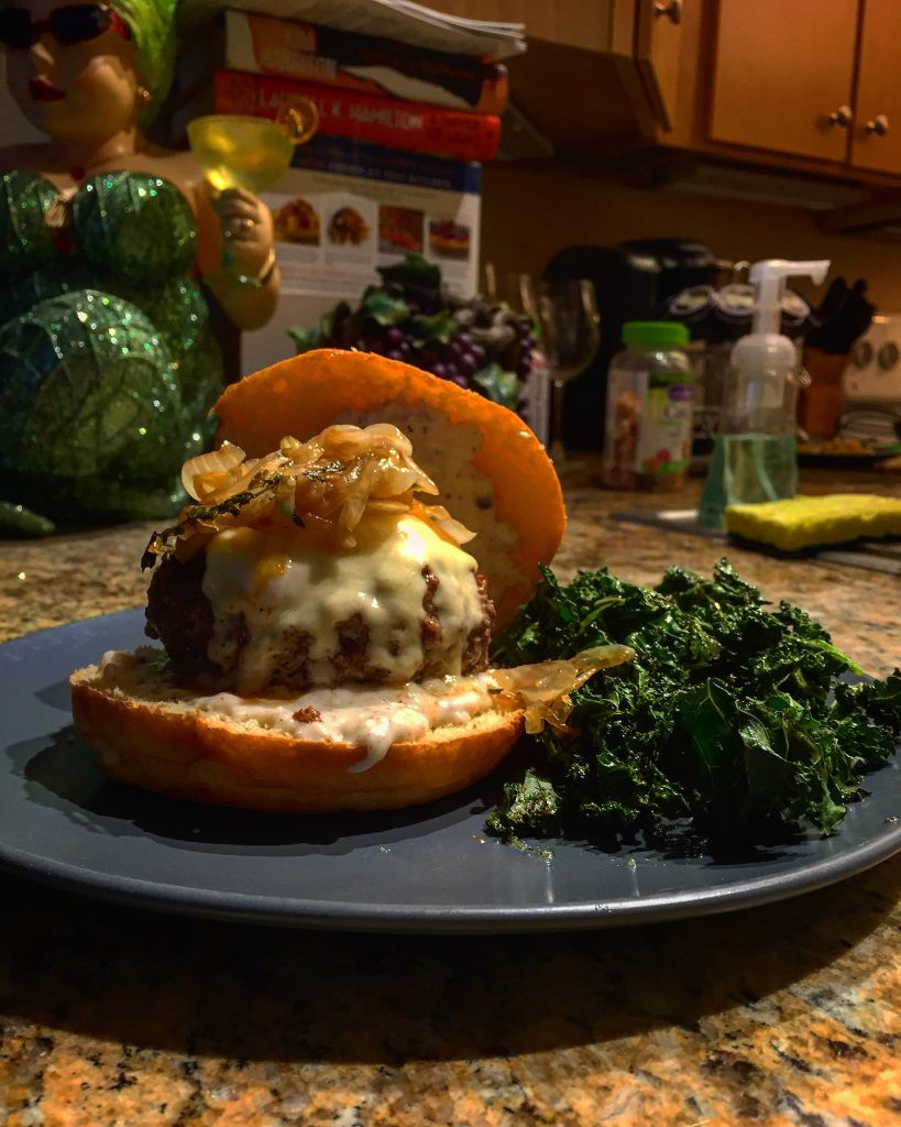 French Onion Soup Burger  Hello Fresh Reviews See the Recipes I ve Made