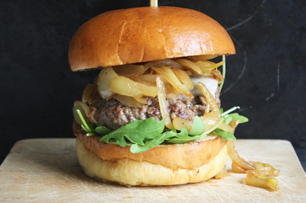 French Onion Soup Burger  French ion Soup Burger – Wish to Dish
