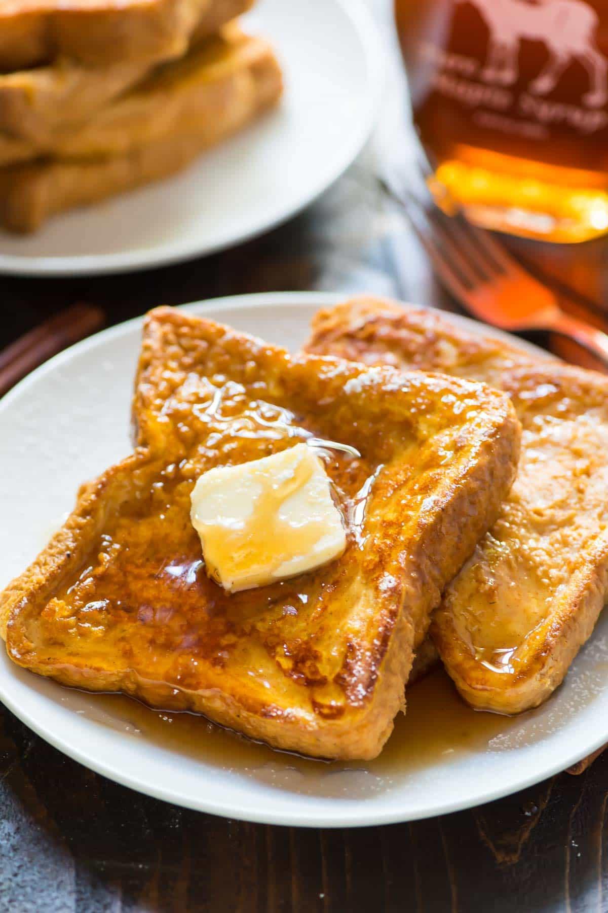 French Toast Recipie  Pumpkin French Toast