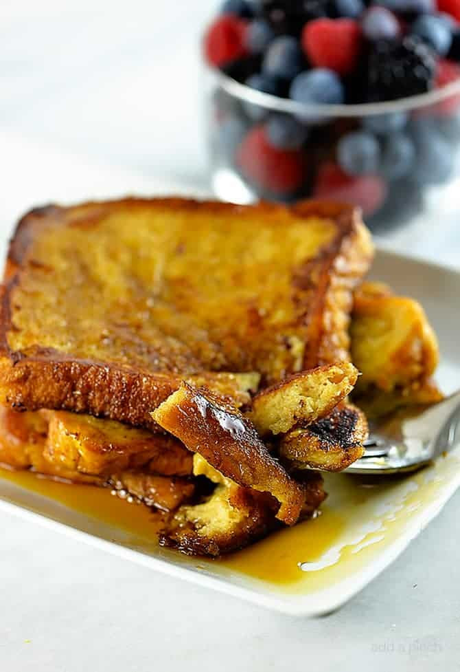 French Toast Recipie  Perfect French Toast Recipe Add a Pinch