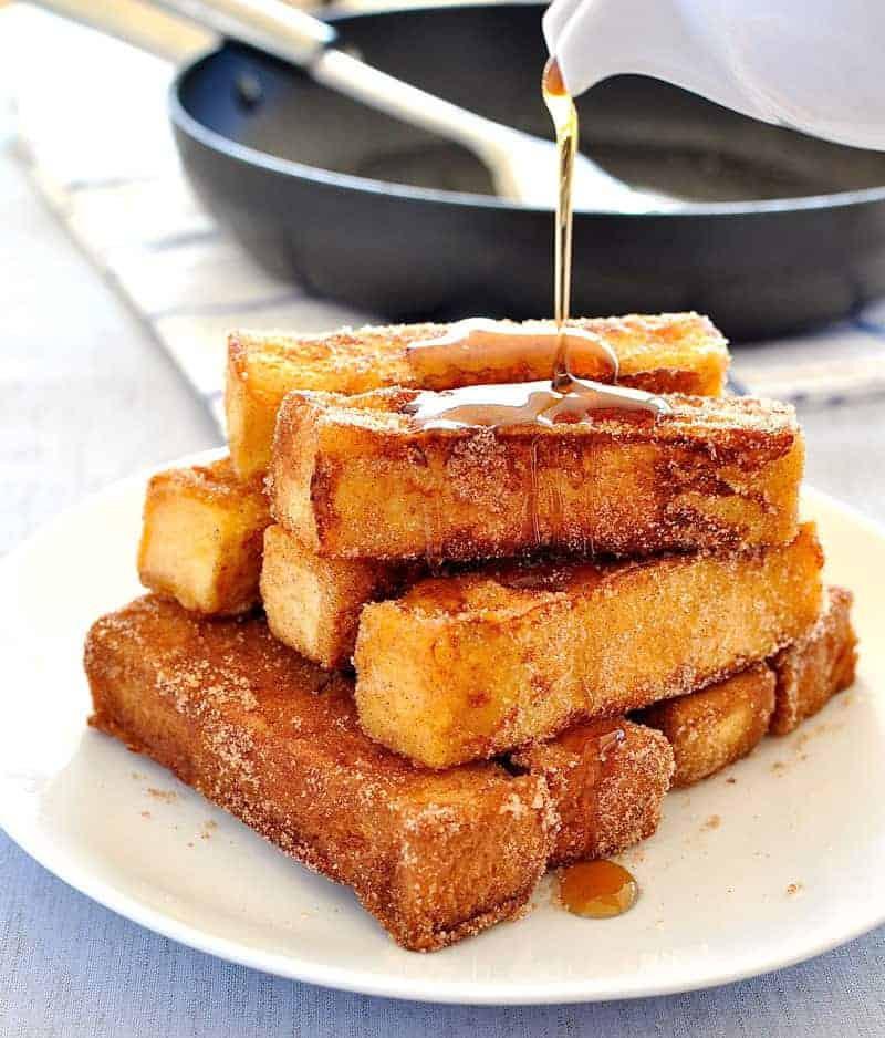 French Toast Recipie  Cinnamon French Toast Sticks