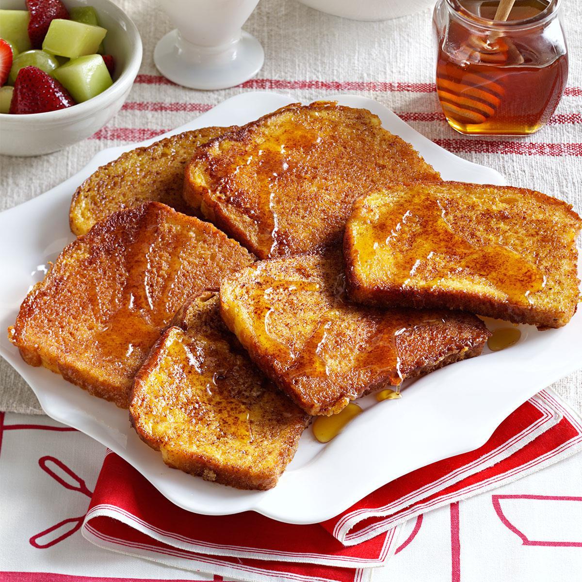 French Toast Recipie  Orange Cinnamon French Toast Recipe
