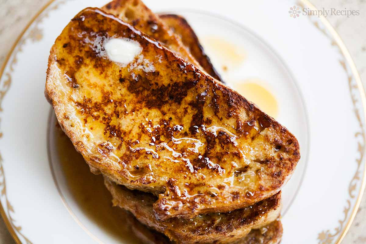 French Toast Recipie  Easy French Toast Recipe